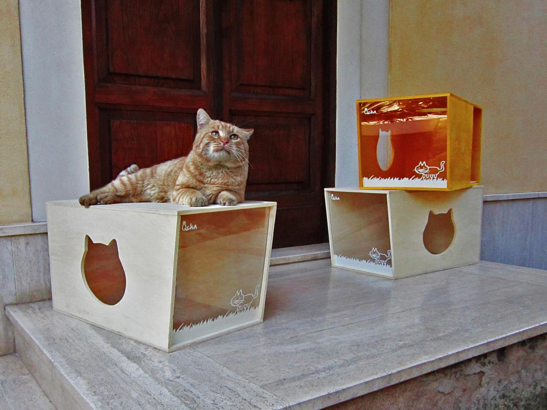 Cuccia per gatti in legno archives ecopensare ecopensare - Cuccia per gatti ikea ...